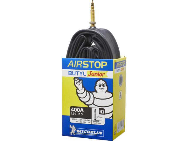 Michelin H3 Airstop Slange 16 tommer, Prestaventil Svart